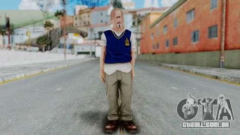 Bully Insanity Edition - Jimmy para GTA San Andreas segunda tela