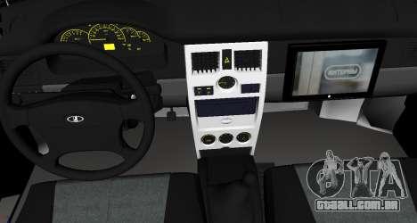 VAZ 2110 v. 2.0 para GTA San Andreas vista direita