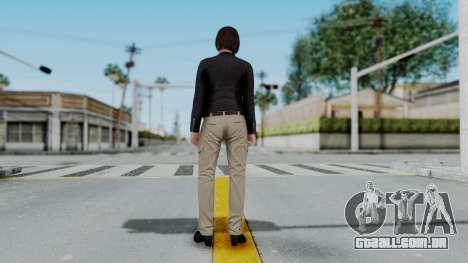 GTA 5 Karen Daniels Biker para GTA San Andreas terceira tela