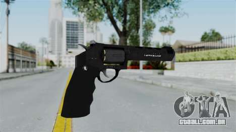 GTA 5 Heavy Revolver - Misterix 4 Weapons para GTA San Andreas segunda tela