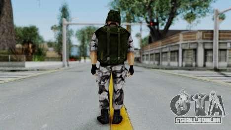 Shephard from Half-Life Opposing Force para GTA San Andreas terceira tela