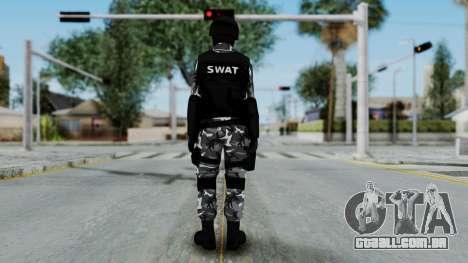 S.W.A.T v4 para GTA San Andreas terceira tela