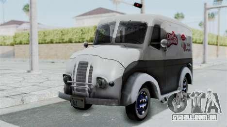 Divco 206 Milk Truck 1949-1955 Mafia 2 para GTA San Andreas
