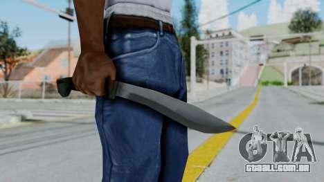 Vice City Knife para GTA San Andreas terceira tela