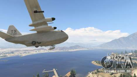GTA 5 Amphibious Plane sétima screenshot