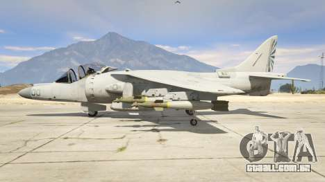 GTA 5 McDonnell Douglas AV-8B Harrier II segundo screenshot