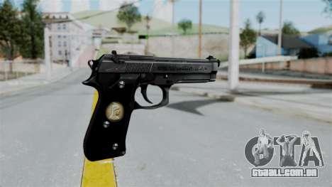 Tariq Iraq Pistol para GTA San Andreas segunda tela
