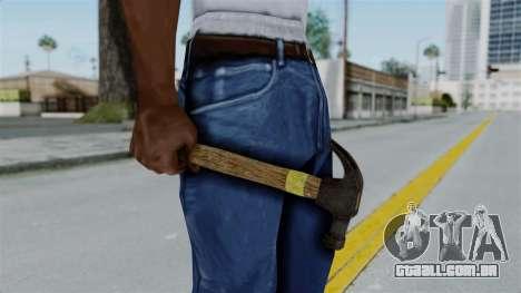 GTA 5 Hammer para GTA San Andreas segunda tela