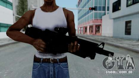Kusanagi ACR-10 Assault Rifle para GTA San Andreas