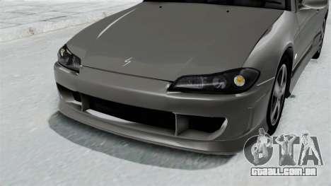 Nissan Silvia S15 Spec-R 2000 para GTA San Andreas vista interior