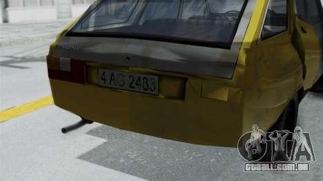 Dacia 1325 Liberta Rusty para GTA San Andreas vista direita