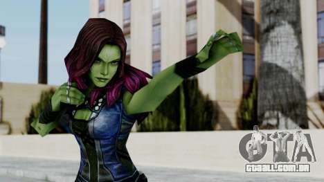 Marvel Future Fight - Gamora para GTA San Andreas