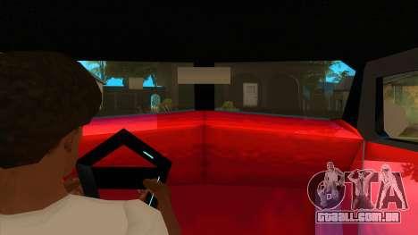 GTA LCS Thunder-Rodd para GTA San Andreas vista interior