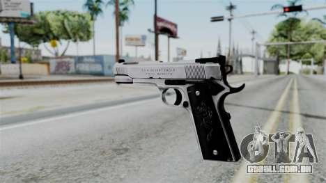 For-h Gangsta13 Pistol para GTA San Andreas segunda tela