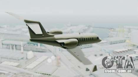 GTA 5 Luxor Deluxe para GTA San Andreas esquerda vista