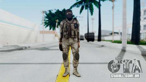 Crysis 2 US Soldier 8 Bodygroup A para GTA San Andreas segunda tela