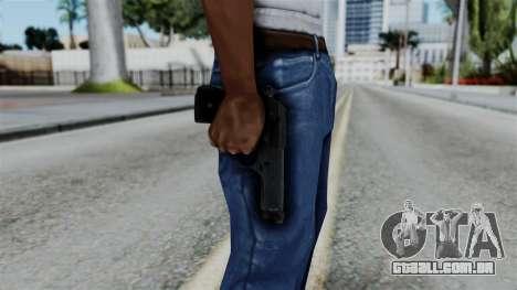 No More Room in Hell - Beretta 92FS para GTA San Andreas terceira tela