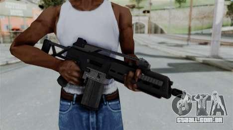 GTA 5 Special Carbine - Misterix 4 Weapons para GTA San Andreas terceira tela
