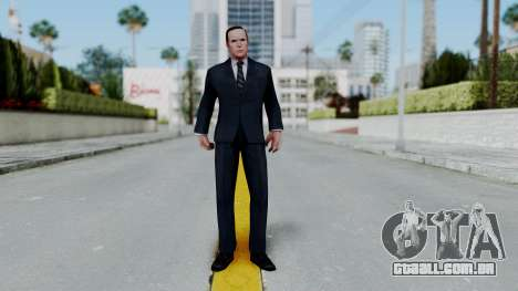 Marvel Future Fight Agent Coulson v2 para GTA San Andreas segunda tela