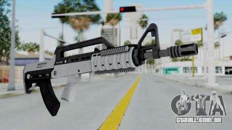 GTA 5 Bullpup Rifle - Misterix 4 Weapons para GTA San Andreas