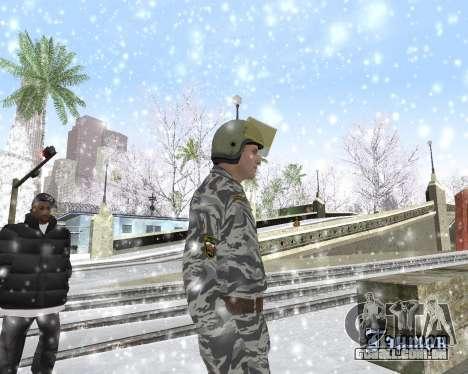 O OMON para GTA San Andreas terceira tela