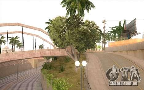 O trabalho de reparação Grove Street para GTA San Andreas oitavo tela