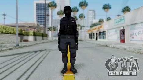 S.W.A.T v2 para GTA San Andreas segunda tela