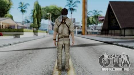 Uncharted 3 - Nathan Drake Desert Outfit para GTA San Andreas terceira tela