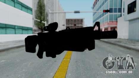Kusanagi ACR-10 Assault Rifle para GTA San Andreas segunda tela