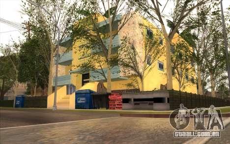 O trabalho de reparação Grove Street para GTA San Andreas sétima tela