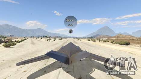 GTA 5 Lockheed F-117 Nighthawk Black 2.0 sétima screenshot