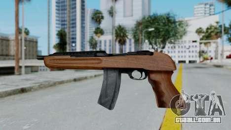 M1 Enforcer para GTA San Andreas segunda tela