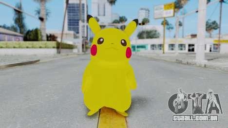 Dancing Pokemon Band - Pikachu para GTA San Andreas segunda tela