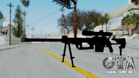 M2000 CheyTac Intervention para GTA San Andreas segunda tela