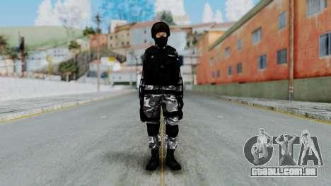 S.W.A.T v4 para GTA San Andreas segunda tela