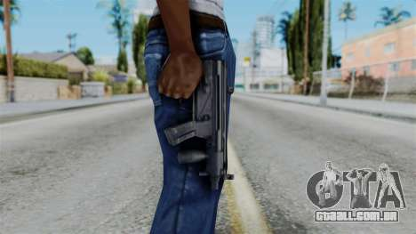 Vice City Beta MP5-K para GTA San Andreas terceira tela