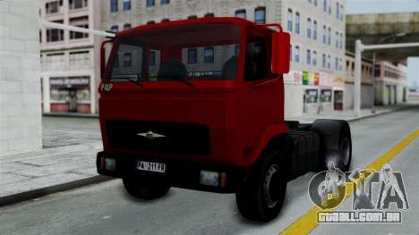 FAP Kamion Stock para GTA San Andreas
