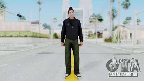 GTA 5 Claude Speed para GTA San Andreas segunda tela