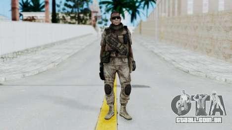 Crysis 2 US Soldier 2 Bodygroup B para GTA San Andreas segunda tela