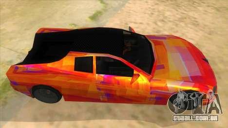GTA 3 Cheetah ZTR para GTA San Andreas vista interior