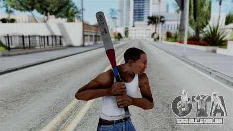 No More Room in Hell - Baseball Bat para GTA San Andreas terceira tela