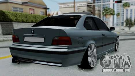 BMW 320 E36 Coupe para GTA San Andreas esquerda vista