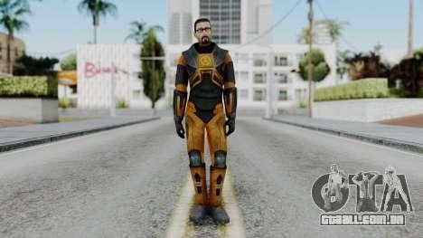 Gordon Freeman Skin para GTA San Andreas segunda tela