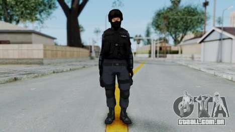 S.W.A.T v3 para GTA San Andreas segunda tela