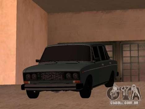 VAZ 2106 BPAN para GTA San Andreas vista direita