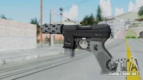 GTA 5 Machine Pistol - Misterix 4 Weapons para GTA San Andreas segunda tela