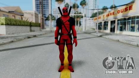 Marvel Heroes - Deadpool para GTA San Andreas segunda tela
