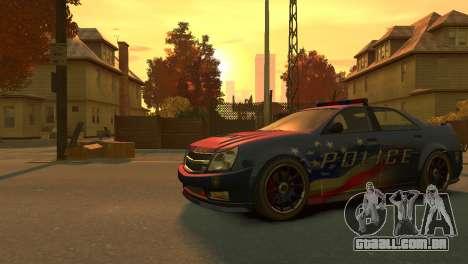 Albany Police Stinger para GTA 4 esquerda vista