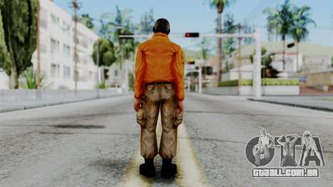 CS 1.6 Hostage 02 para GTA San Andreas terceira tela