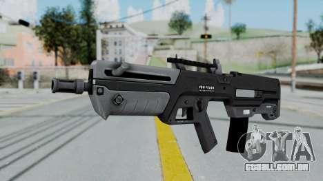 GTA 5 Advanced Rifle - Misterix 4 Weapons para GTA San Andreas